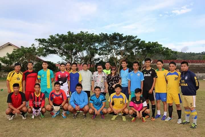 SAS foto bersama pemain PSKT