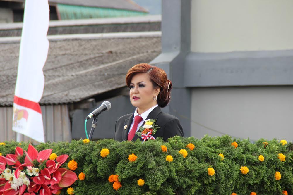 Wakil Wali Kota Tomohon Irup di Upacara Pemberian Remisi kepada warga binaan di Lapas Anak Tomohon