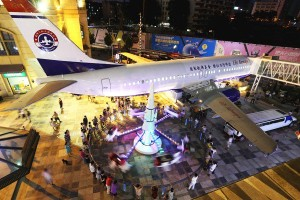 Boeing 737, Restoran pesawat, Lilly Airways,  Li Liang ,Batavia Air