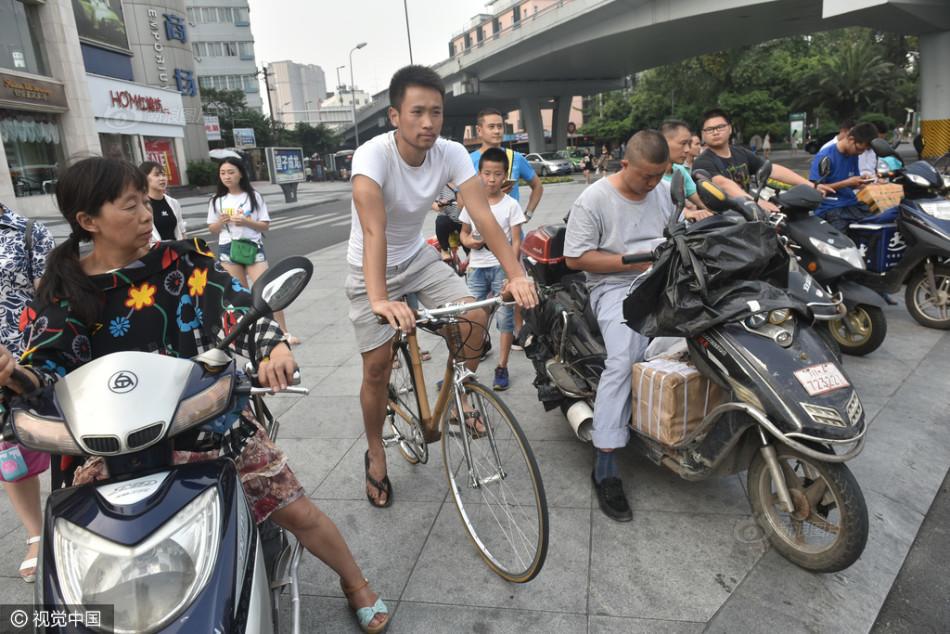 Bambu. Sepeda Bambu, Bambu Tonkin, china