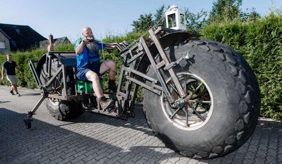 Sepeda Terberat, Jerman ,  Guinness World Record,Frank Dose