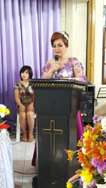 Wakil Wali Kota  Tomohon  Syerly Adelyn Sompotan