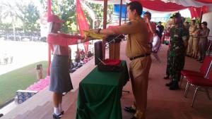 Gladi resik Upacara HUT RI ke-71 tingkat Provinsi Sulut