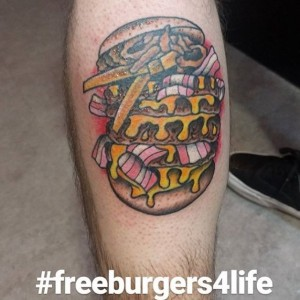 Cafe 51 , Australia,  Tato Burger, Burger,#freeburgersforlife