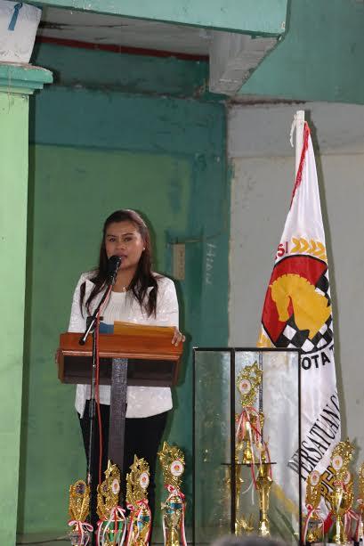 Ketua Percasi Tomohon Katherina Leydi Polii SIK