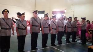 Empat Jabatan di Polres Tomohon Diserahterimakan