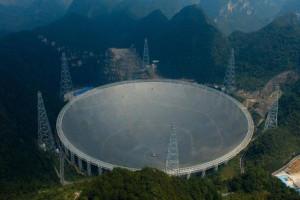 Teleskop radio terbesar, Teleskop terbesar, FAST , Aperture Spherical Telescope, china