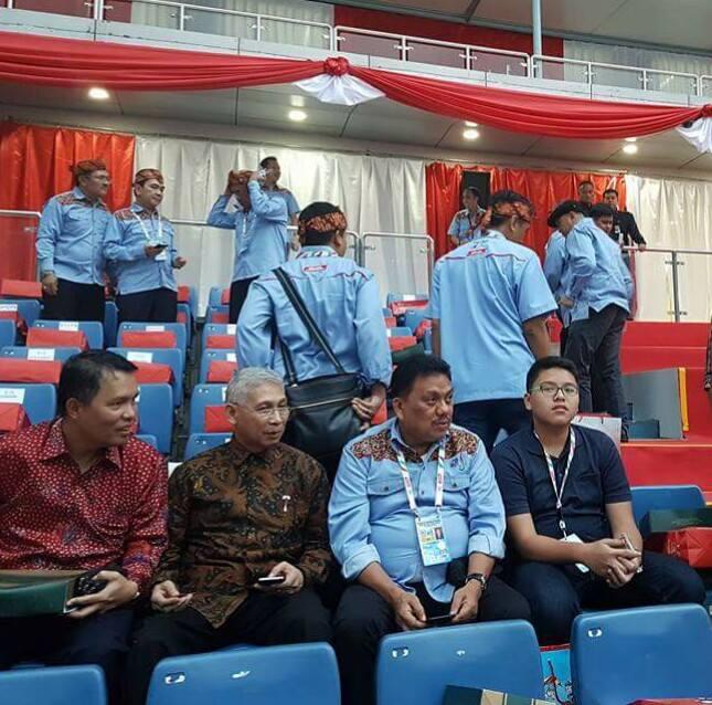 Gubernur Sulut Olly Dondokambey di Pembukaan PON XIX Bandung