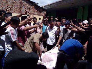 Bupati Mitra salurkan kurban ke Umat Muslim Mitra