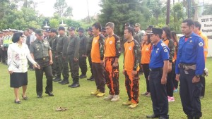 Kapolres Tomohon ,AKBP Monang Simanjuntak SIK,Kebakaran Hutan