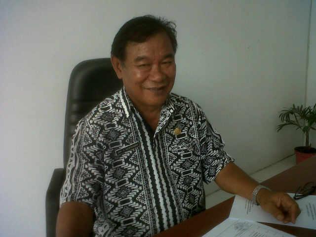 Kepala BPBD Mitra Drs Jopy Mokodaser