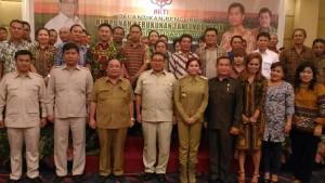 himpunan kerukunan tani Indonesia, HKTI sulut, Fadli Zon,