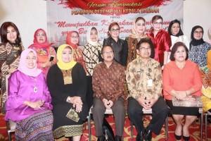 Pertemuan Kepala Daerah Perempuan Motivasi SAS Terus Berkarya di Tomohon