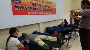 HUT HKGB, Hari Kesatuan Gerak Bhayangkari , Minahasa Selatan