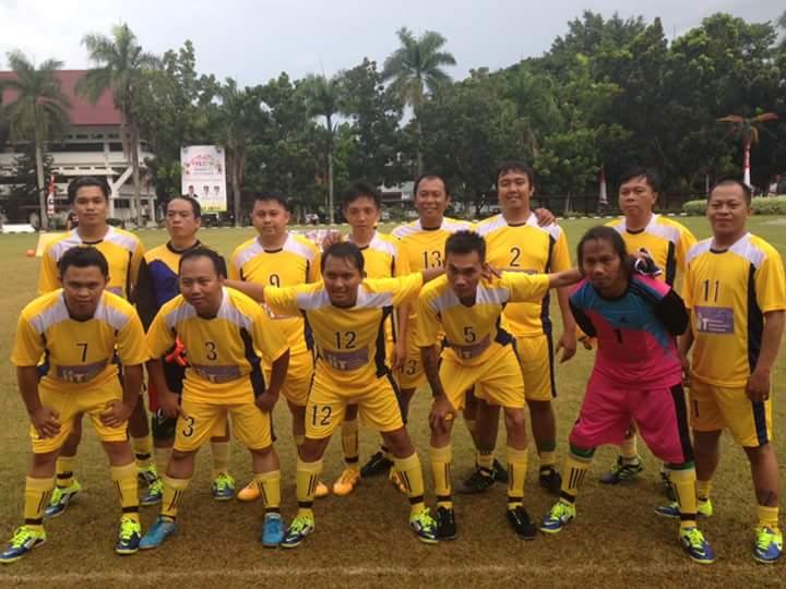 JIT EMAS menjadi juara III di Jurnalis Sulut Futsal Turnamen