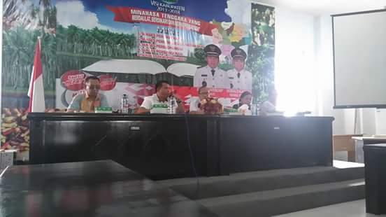 Pemantapan pencanangan Kabupaten Sehat