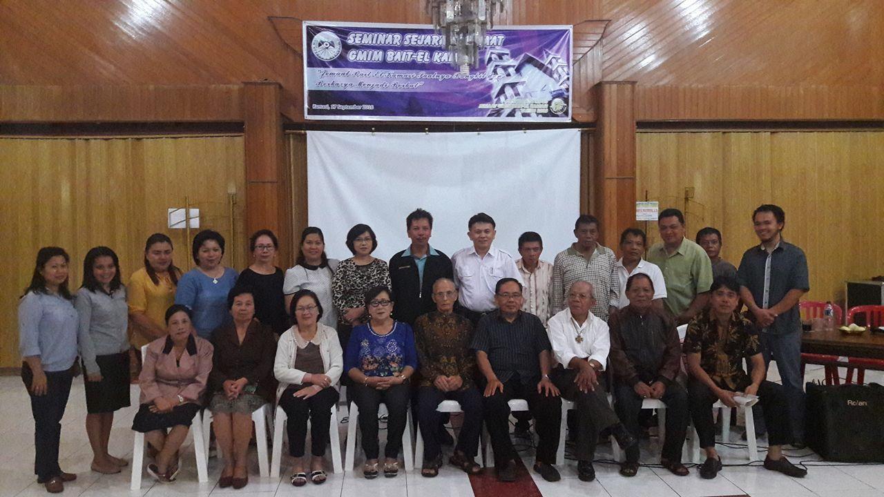 Peserta Seminar Revisi Sejarah GMIM Bait-El Kamasi