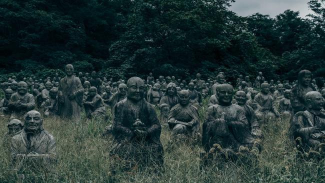 Taman 'Kematian', tempat wisata jepang, jepang, Fureai Sekibutsu no Sato