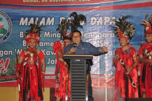 Minahasa Tenggara ,  James Sumendap,Malam Baku Dapa KKMT,