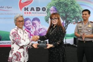 Wakil Wali Kota Tomohon Hadiri Penyerahan CSR Pertamina