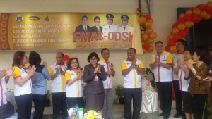 Launching EMAS-ODSK, Proses Pencairan Dana di DPPKBMD Tomohon Hanya Satu Hari