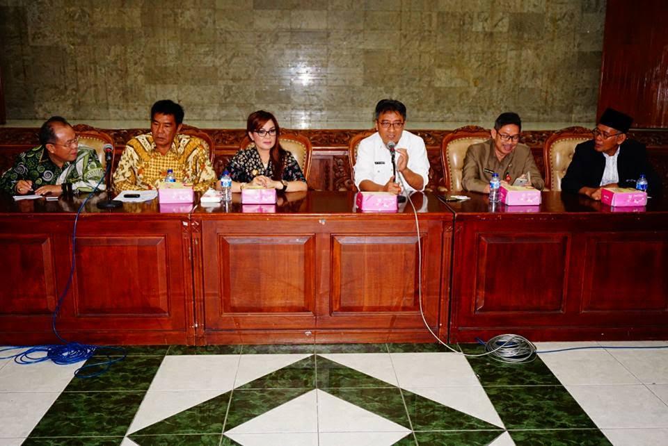 Pemkot Tomohon dan FKUB saat berkunjung ke Semarang