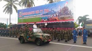 HUT ke-71 TNI