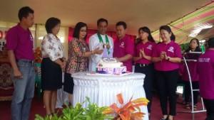 HUT Bersinode ke-28, GMIM Wilayah Tombatu, Pdt Recky Rantung, Ana Dotulong Spd MM,