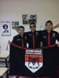Tonaas KMI, Chrismiecum Sondak, Romel Mundung, Komando Manguni Indonesia , KMI