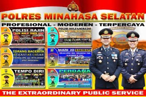 Polres Minahasa Selatan , Program Polres Minsel