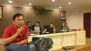 Koordinator JIPS, Jurnalis Independen Pemprov Sulut. Donny Aray, Rolf Lumintang