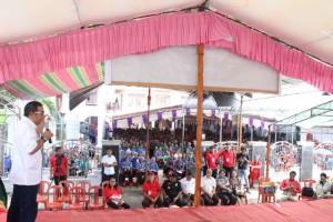 james Sumendap SH, Lansia GMIM rayon Minahasa Tenggara, Arie Boseke,