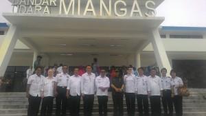 Wali Kota Tomohon Hadiri Peresmian Bandara Miangas