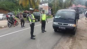 Operasi Patuh Samrat 2016 ,Polres Minsel, Kepala Anev ,IPDA Novie Maleke