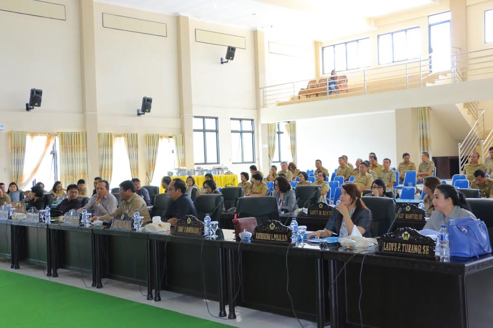 Rapat Paripurna Pemandangan Umum Ranperda REncana Induk Pembangunan Kepariwisataan dan Kawasan Tanpa Rokok