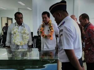 Infrastruktur Perhubungan Sulut , Menteri Perhubungan, Budhi Karya Sumadi , bandara udara Miangas