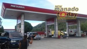BBM, bensin langka,  minahasa selatan