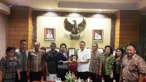 Tingkatkan PBB-P2, BPHTB dan Perekonomian, Pemkot Tomohon Kunker ke Tabanan Bali