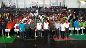 Wakil Gubernur Sulawesi Utara , Steven Kandouw, kejurnas anggar dan pencak silat ,