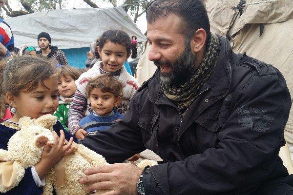 Rami Adham, suriah, aleppo, Sinterklas Suriah