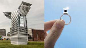 Pembersih Udara , Smog Free Tower , Studio Roosegaarde,Daan Roosegaarde,