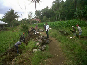 Desa Pinabetengan Selatan, Tonsewer ,Sumarayar, dana desa, dana desa tahap 2