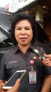 Kepala Disperindag Sulut Jenny Karouw