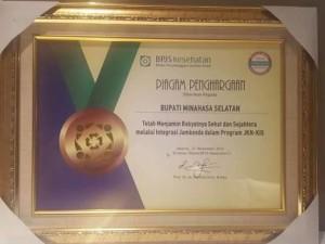 BPJS,  Penghargaan BPJS,  Christiany Eugenia Paruntu