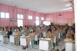 Peserta Seleksi Akademik Caloi kepala Sekolah di Kota Tomohon