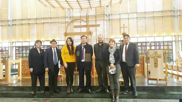 Delegasi Pemprov Sulut saat bertemu WCC