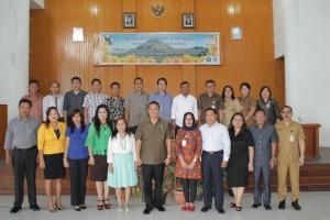 Forum Kota Sehat bersama Wali Kota dan Kepala SKPD terkait