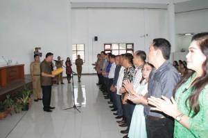 Wali Kota Tomohon melantik Forum Kota Sehat