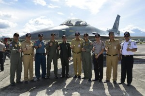 Latihan Bersama Militer, Militer Amerika , TNI AU ,Brian McFeeters