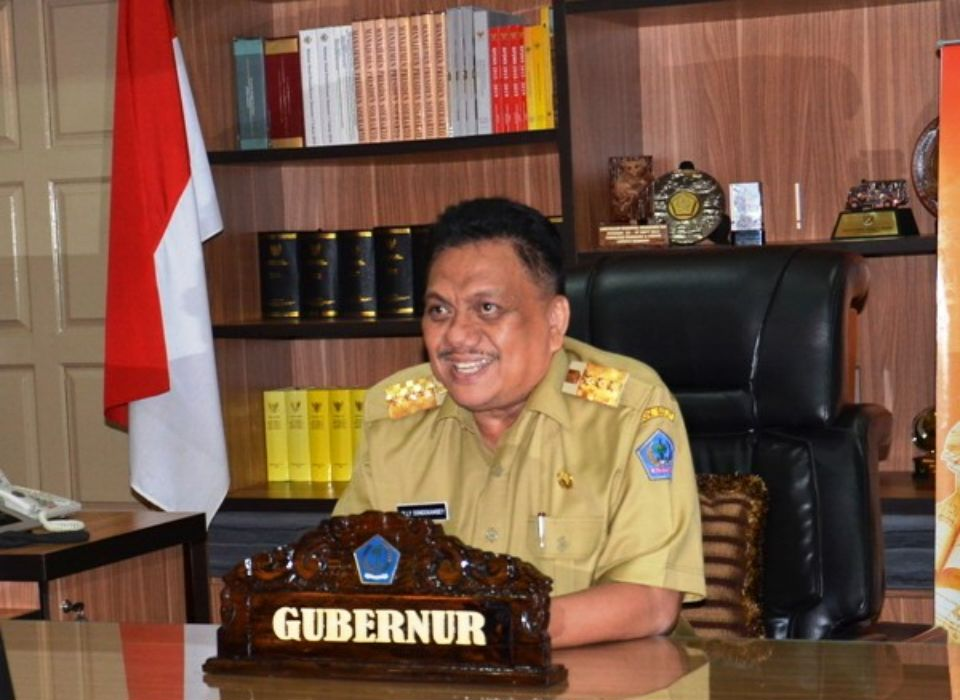 Gubernur Olly Larang Pejabat Pemprov Sulut Keluar Daerah